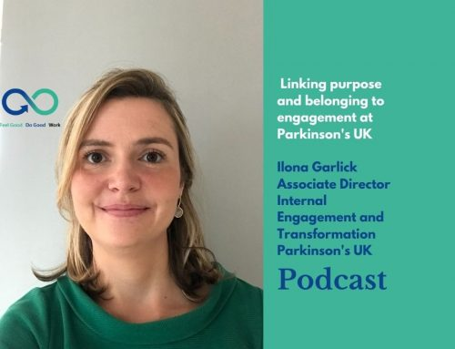 Podcast with Ilona Garlick, Associate Director at Parkinson's UK.