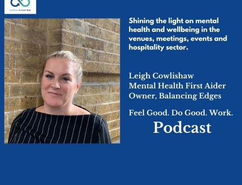 Podcast with Leigh Cowlishaw, Mental Health First Aider & Owner of Balancing Edges